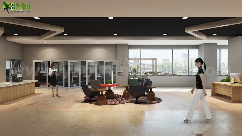 Ideas de dise o de interiores de oficina moderna para for Ideas de diseno de interiores