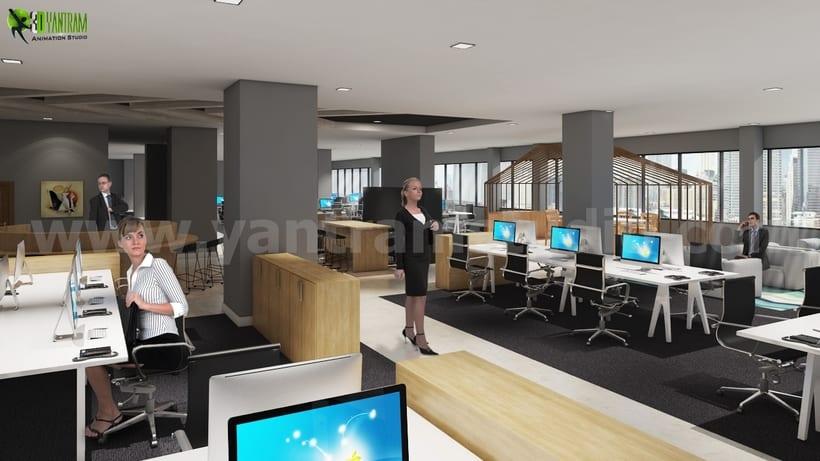 ideas de diseo de interiores de oficina moderna para cocina despensa y reas de espera