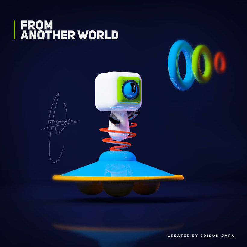FROM ANOTHER WORLD! 1