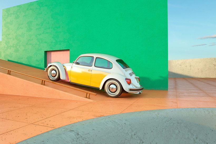 Nostalgia automovilística y diseño 3D se ponen a bailar 5