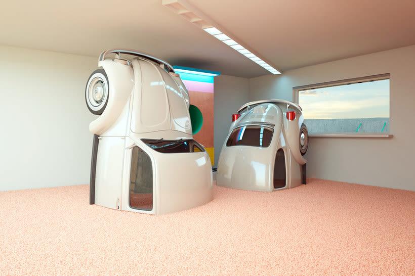 Nostalgia automovilística y diseño 3D se ponen a bailar 6