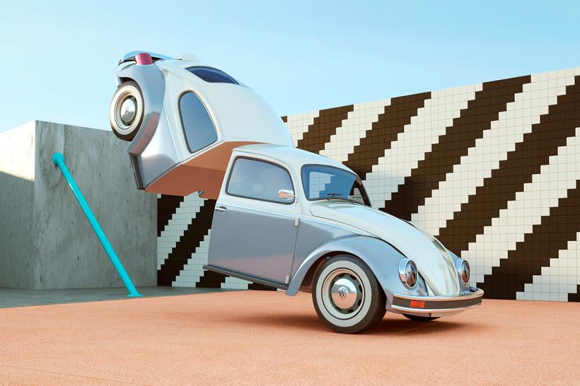 Nostalgia automovilística y diseño 3D se ponen a bailar 7