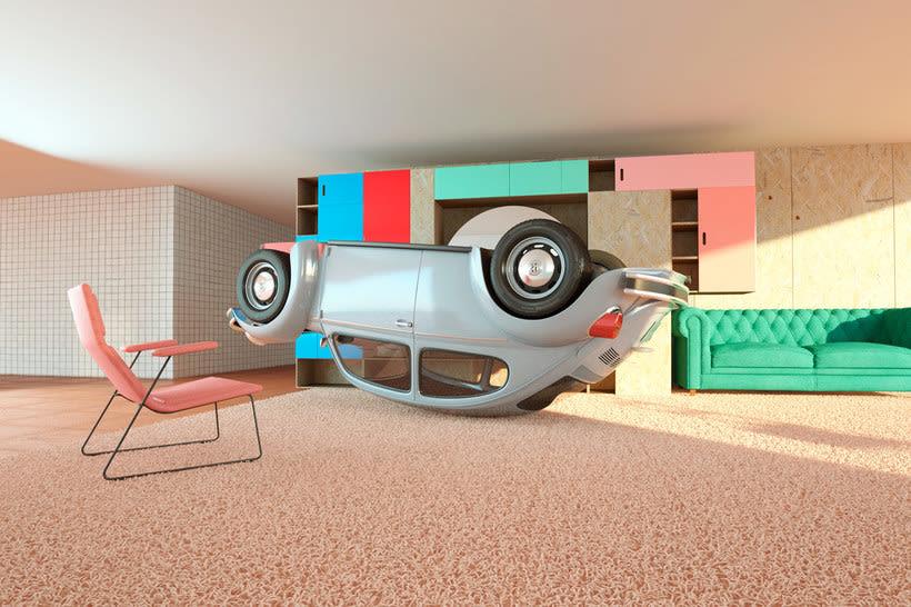 Nostalgia automovilística y diseño 3D se ponen a bailar 9