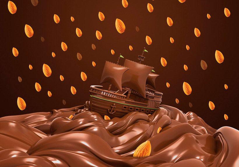 10 diseños muy dulces con el chocolate como protagonista 12