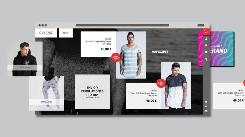 Tienda online Sik Silk 3