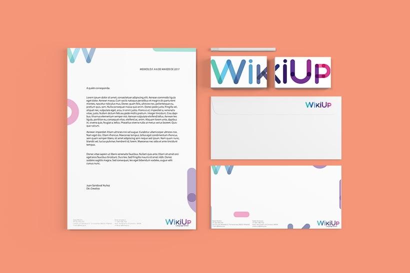 WikiUp - Corporate Branding  3