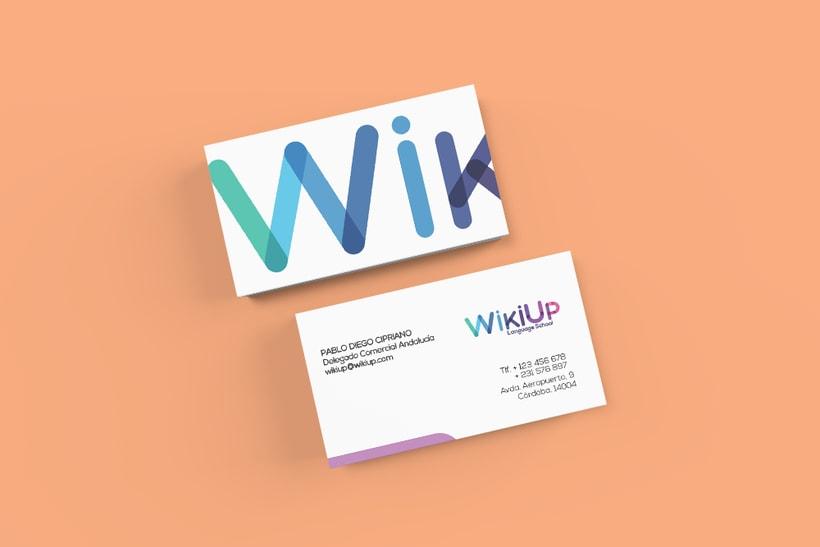 WikiUp - Corporate Branding  4