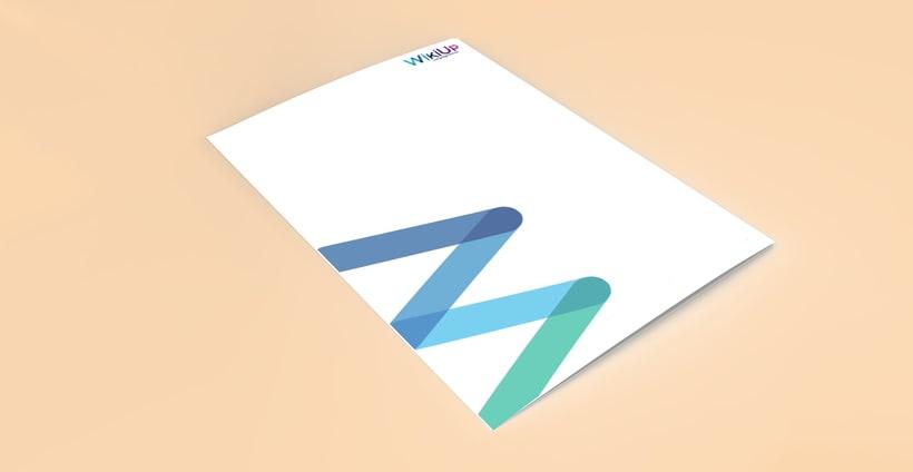 WikiUp - Corporate Branding  6