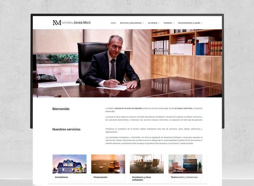 Web Notaria Javier Micó 3