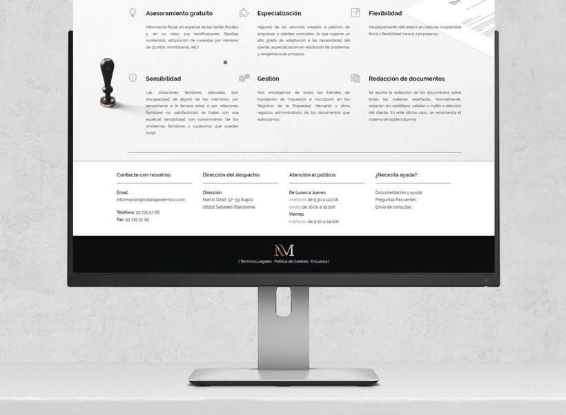 Web Notaria Javier Micó 4