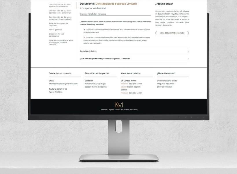 Web Notaria Javier Micó 8
