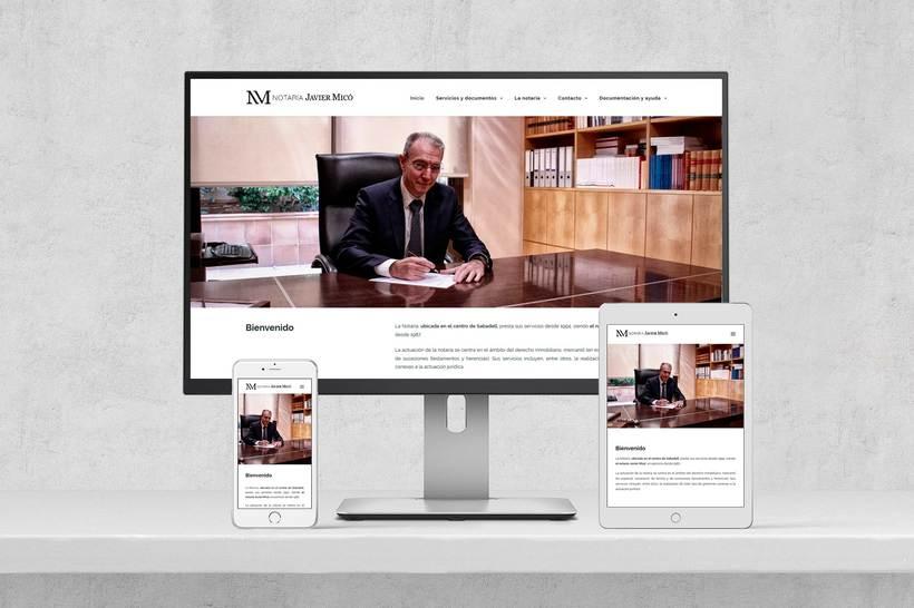 Web Notaria Javier Micó 1