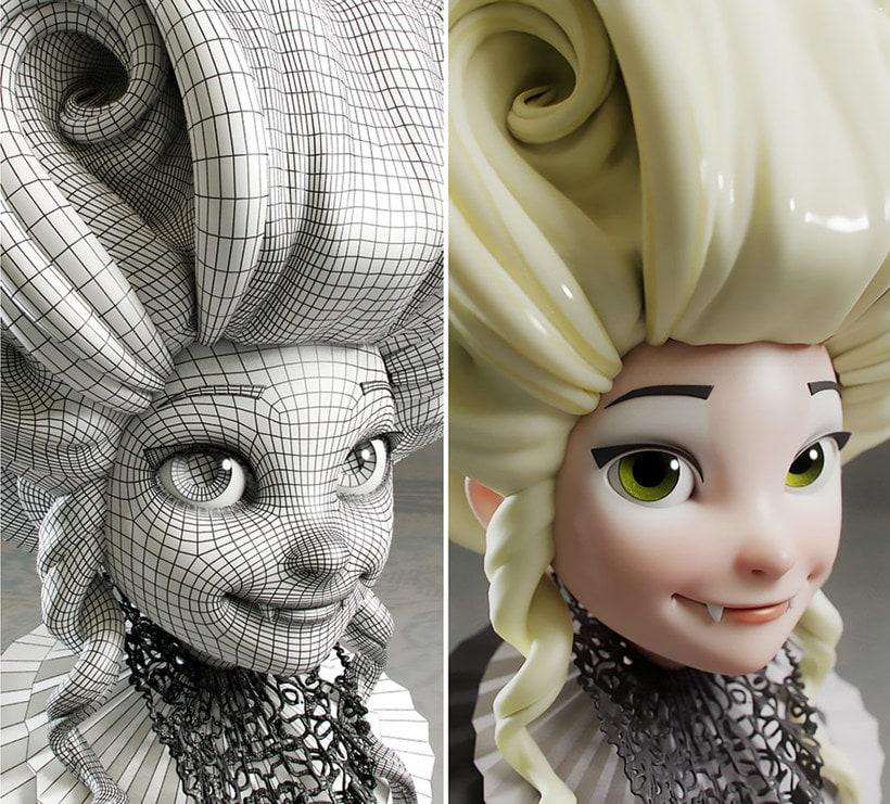 Modelado de personajes en 3D con Luis Gomez-Guzman 1