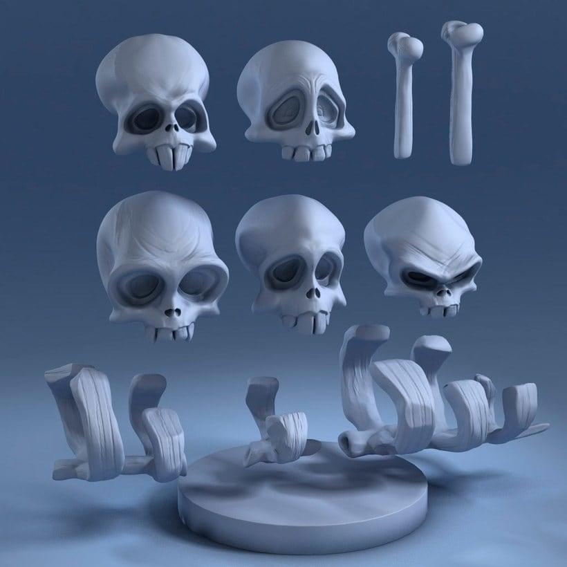 Modelado de personajes en 3D con Luis Gomez-Guzman 5