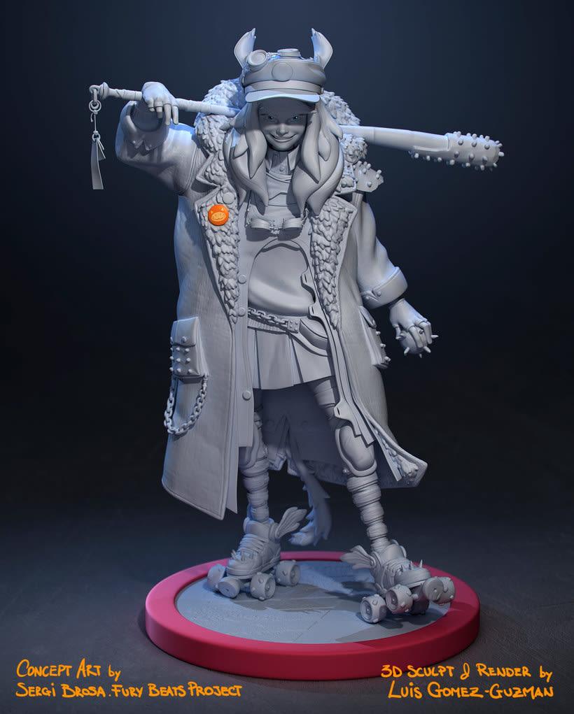 Modelado de personajes en 3D con Luis Gomez-Guzman 6