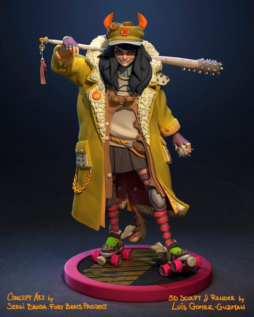 Modelado de personajes en 3D con Luis Gomez-Guzman 7
