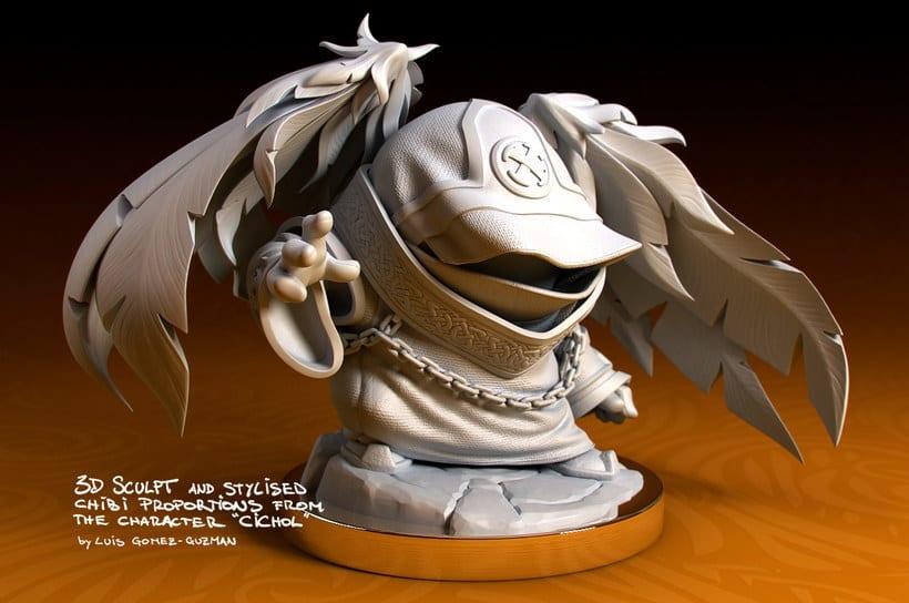 Modelado de personajes en 3D con Luis Gomez-Guzman 10
