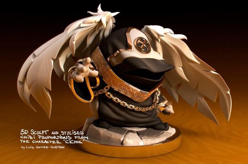 Modelado de personajes en 3D con Luis Gomez-Guzman 11