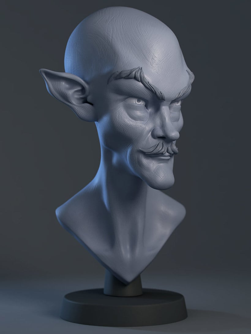 Modelado de personajes en 3D con Luis Gomez-Guzman 15