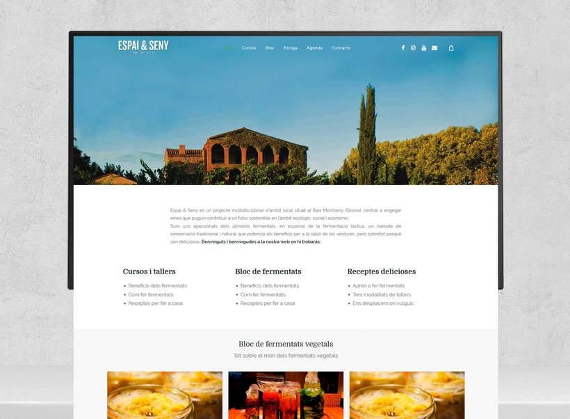 Rediseño web Espai & Seny (en desarrollo) 1