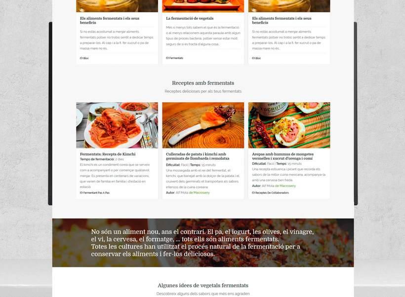 Rediseño web Espai & Seny (en desarrollo) 2