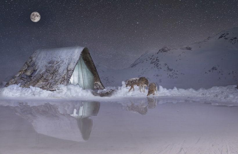 Peligro en la nieve. -1