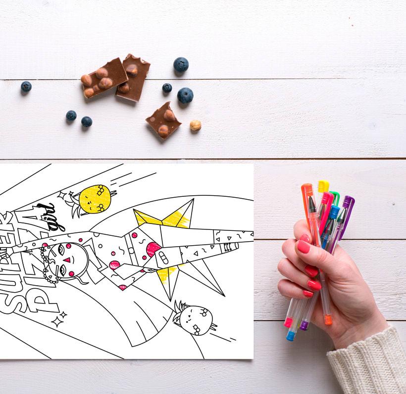 Esto Pinta Bien - Coloring Book 5