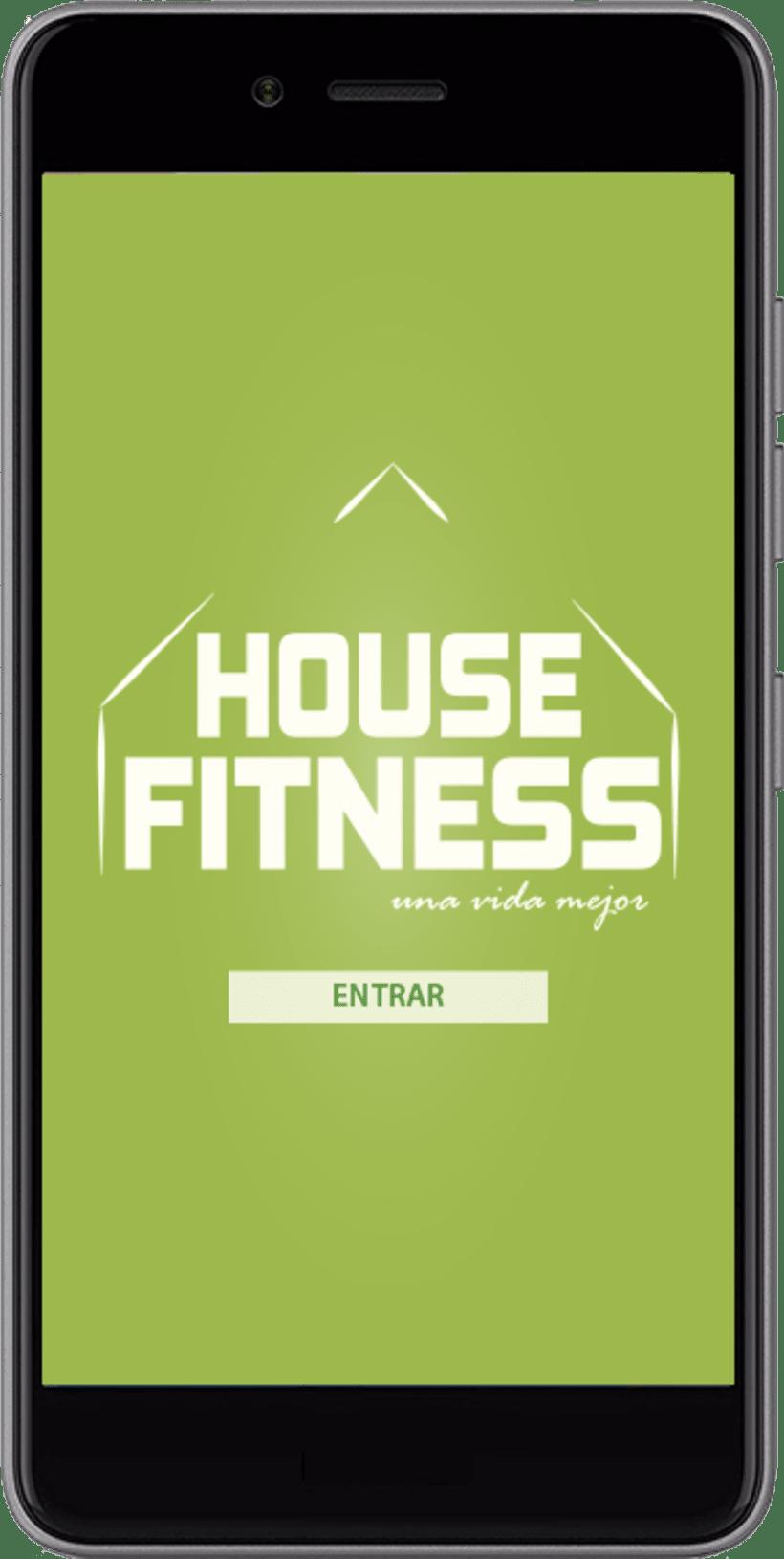 Desarollo de App House Fitness 0