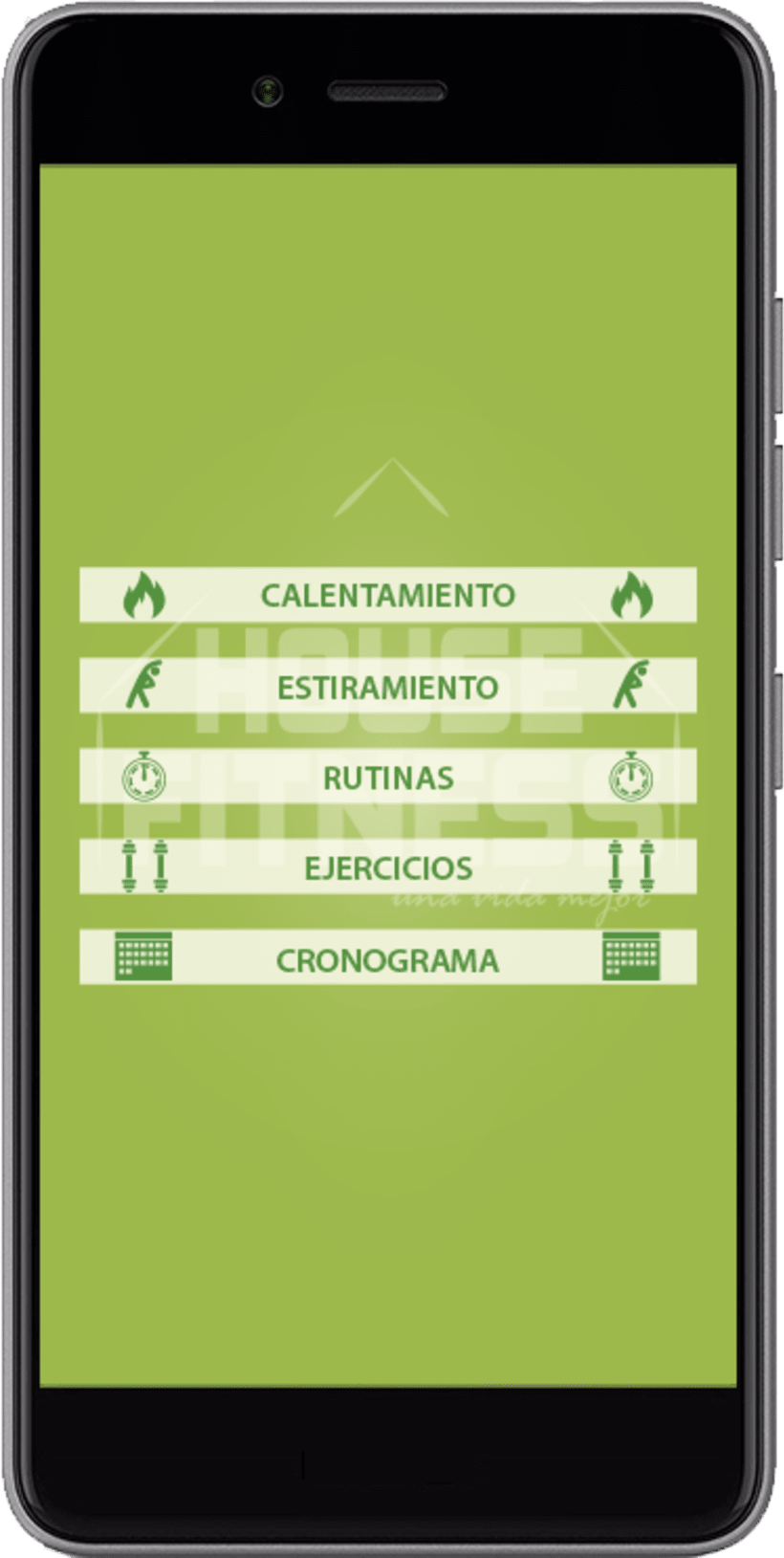 Desarollo de App House Fitness 1