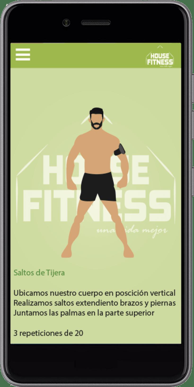 Desarollo de App House Fitness 3