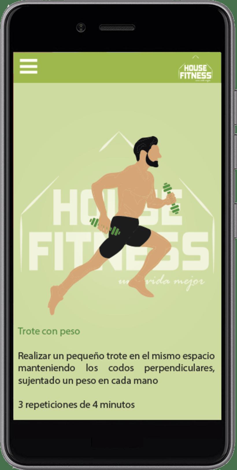 Desarollo de App House Fitness 4