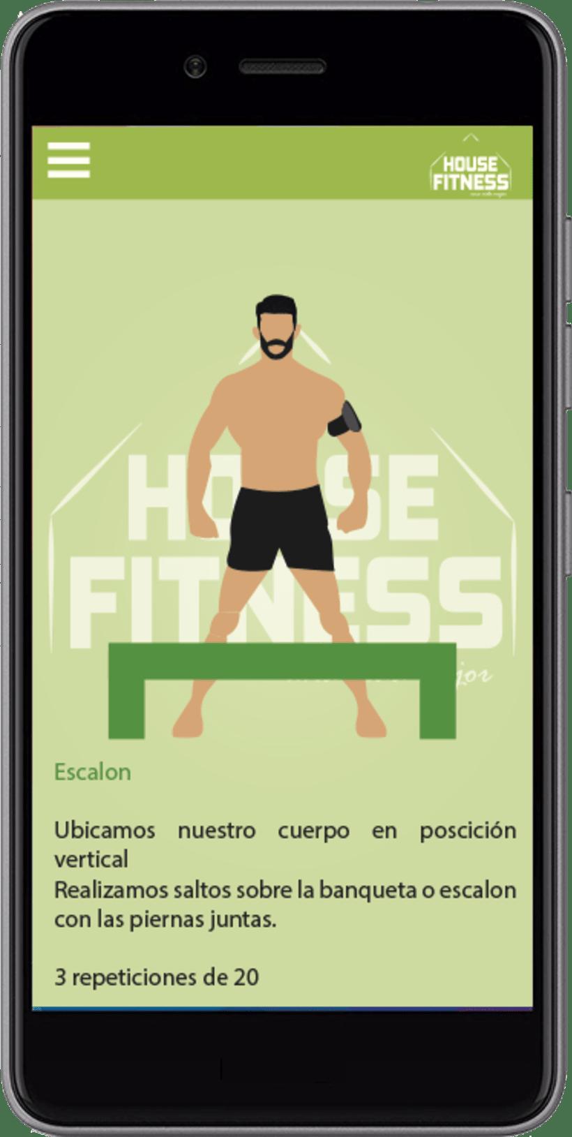 Desarollo de App House Fitness 5
