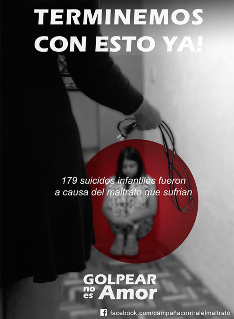 Campaña Contra el Maltrato Infantil 2