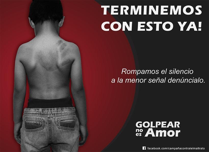 Campaña Contra el Maltrato Infantil 3