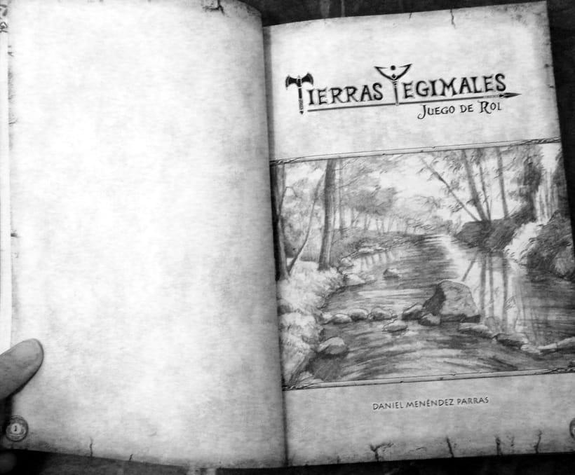 Tierras Yegimales: El juego de rol. 0