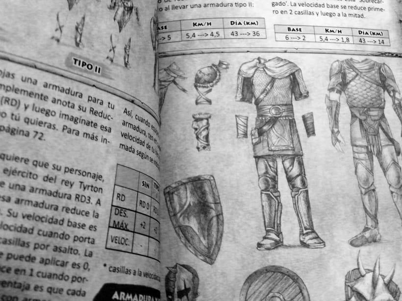 Tierras Yegimales: El juego de rol. 3