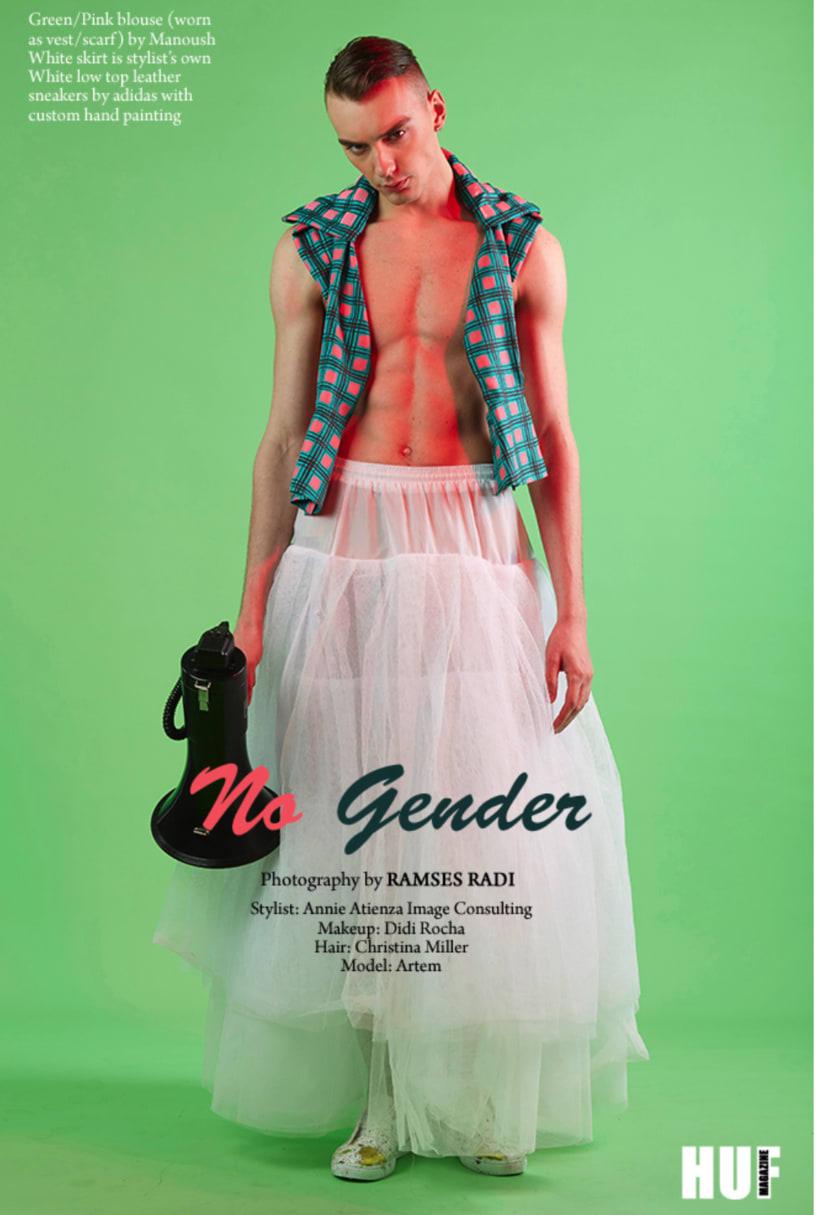 ¨No Gender¨ for HUF Magazine ´17 4