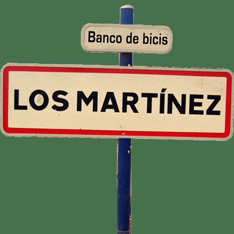 Los Martínez Banco de bicis: Identidad 1