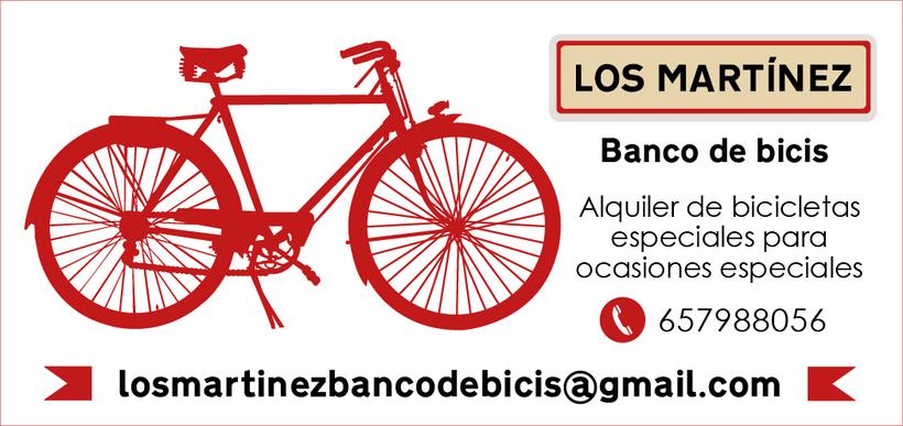 Los Martínez Banco de bicis: Identidad 3