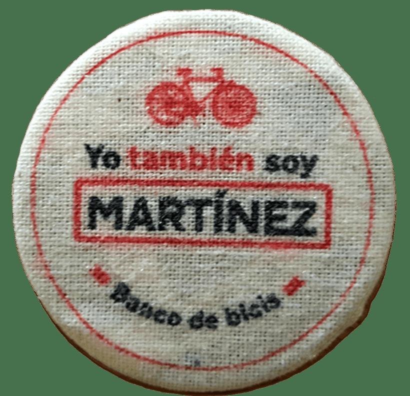 Los Martínez Banco de bicis: Identidad 4
