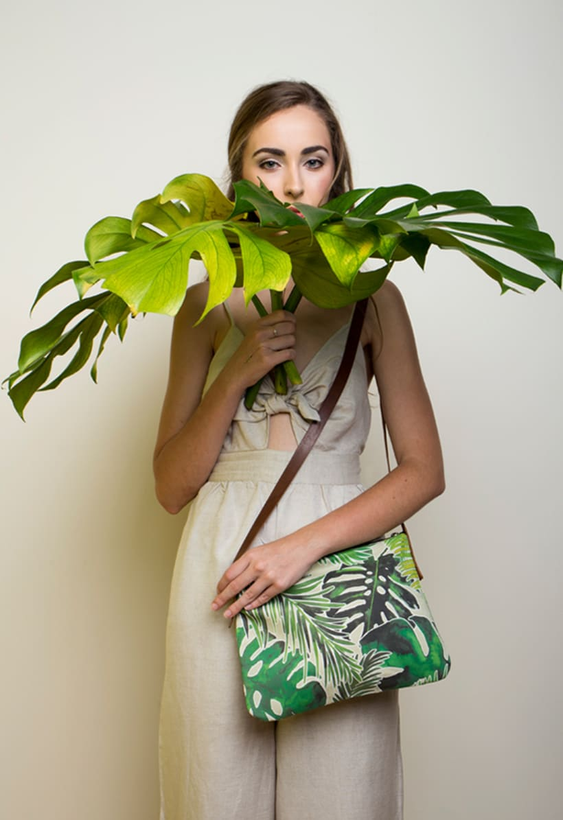 Bolsos estampado tropical 1