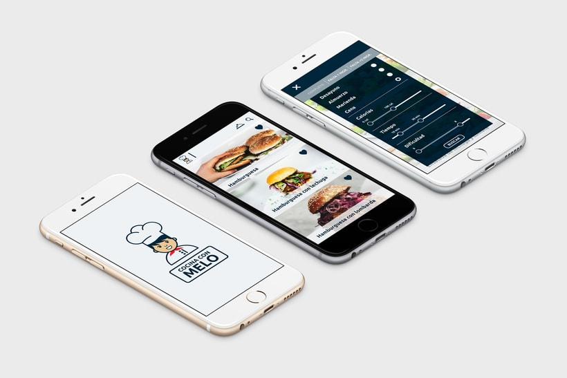 Cocina con Melo- App 1