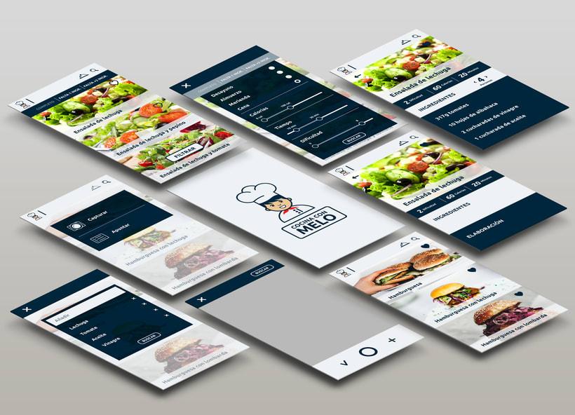 Cocina con Melo- App 2