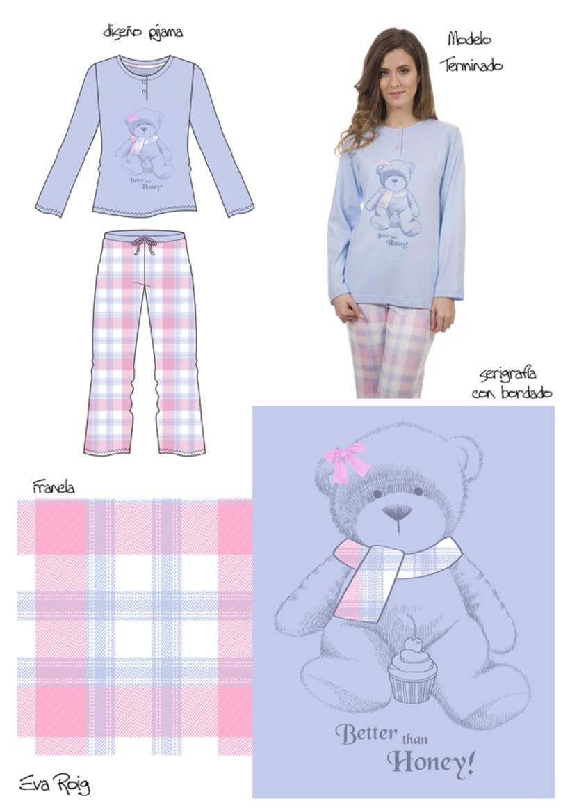 Diseño Textil - Lencería 2