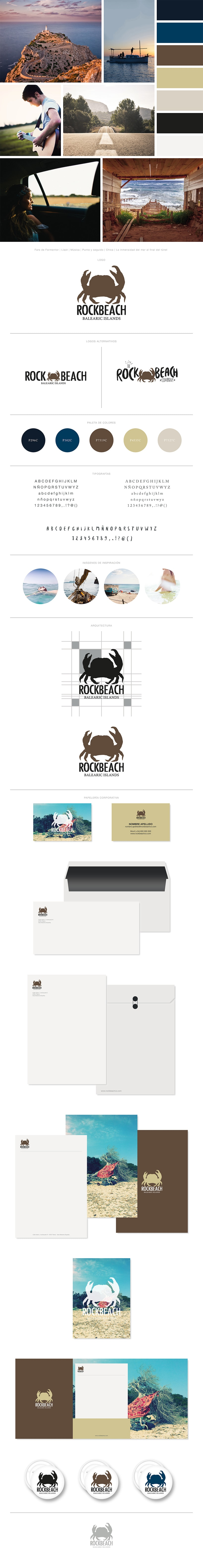 THE ROCK BEACH CO. | Branding e Identidad 0