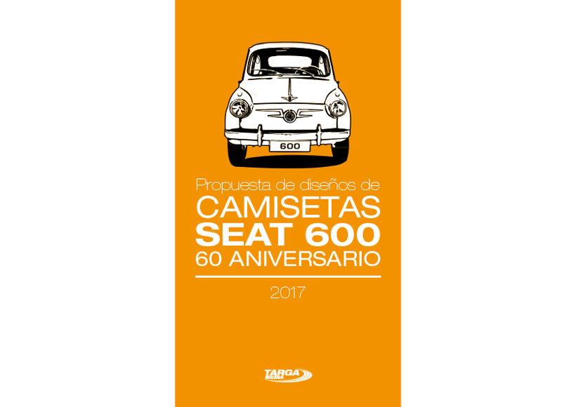 Camisetas 60 aniversario SEAT 600 -1