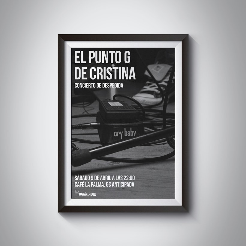Concierto despedida El Punto G de Cristina -1