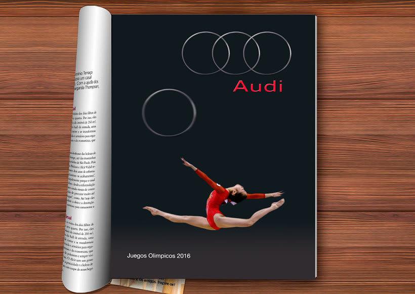 Proyecto personal  Anuncio Campaña Audi Olimpiadas 0