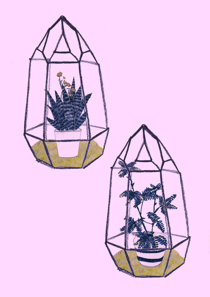 Flora Vertical  /prints 0