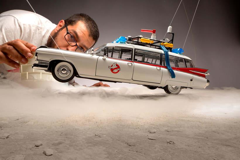 Felix Hernandez fotografía 'Coches famosos' en acción 3